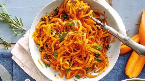 Wortelspaghetti