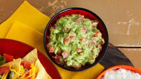Mexicaanse guacamoledip