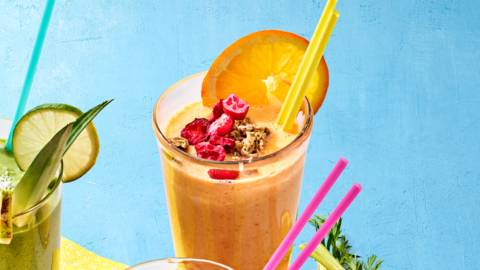 Wortel-gember smoothie