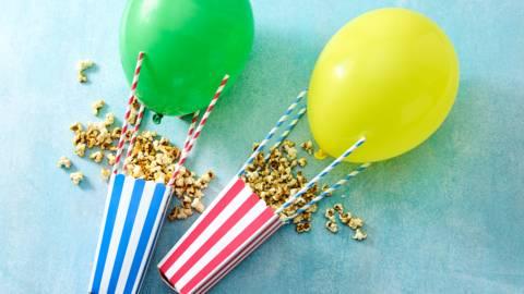 Luchtballon popcorn