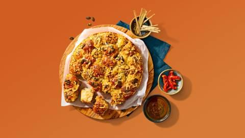 Breekbrood met bospaddenstoelenkaas, Provençaalse kruiden en noten