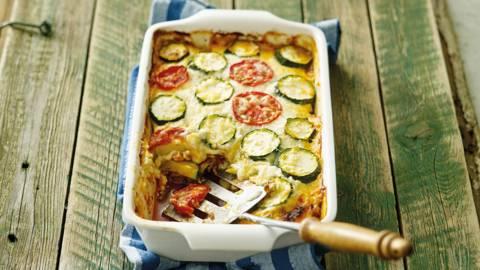 Courgette-lasagne