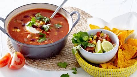 Verse Mexicaanse tomatensoep
