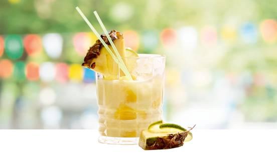 Ananas-limoen bitter