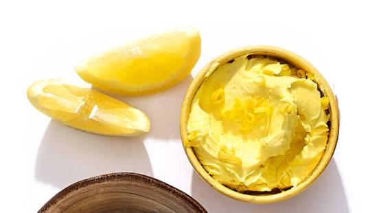 Boter van citroen en kerrie