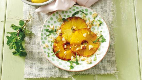 Ananascarpaccio