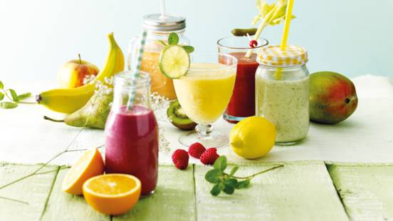 Yoghurt smoothies