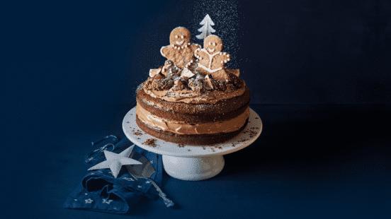 Chocomousse laagjes taart