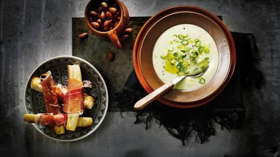 Witte gazpacho