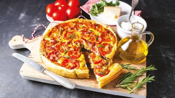 Italiaanse tomatentaart