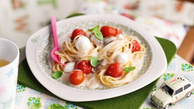 Voetbal pasta voor kinderen