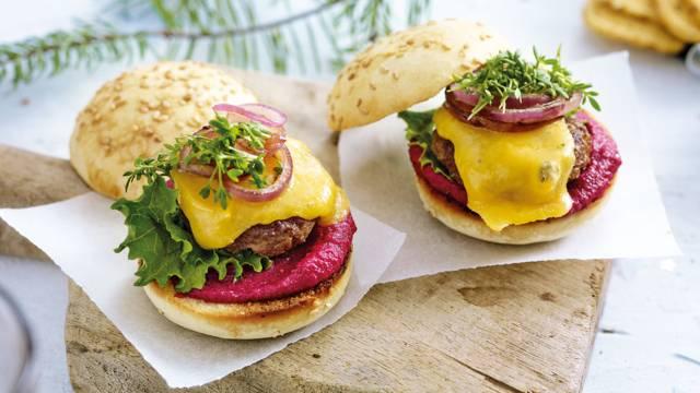 Luxe mini hamburgertjes