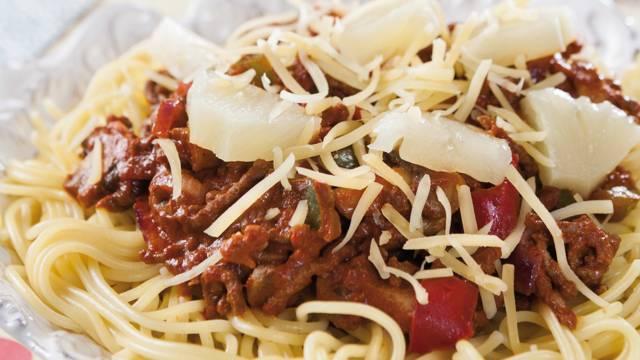Spaghetti hawai