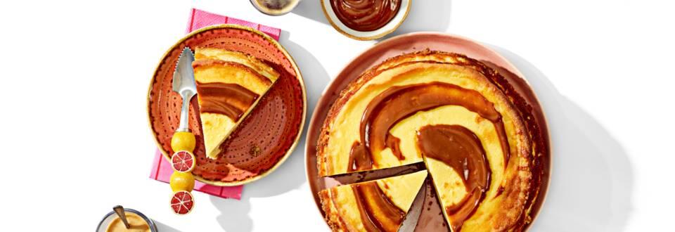Dulce de leche Havana-cheesecake