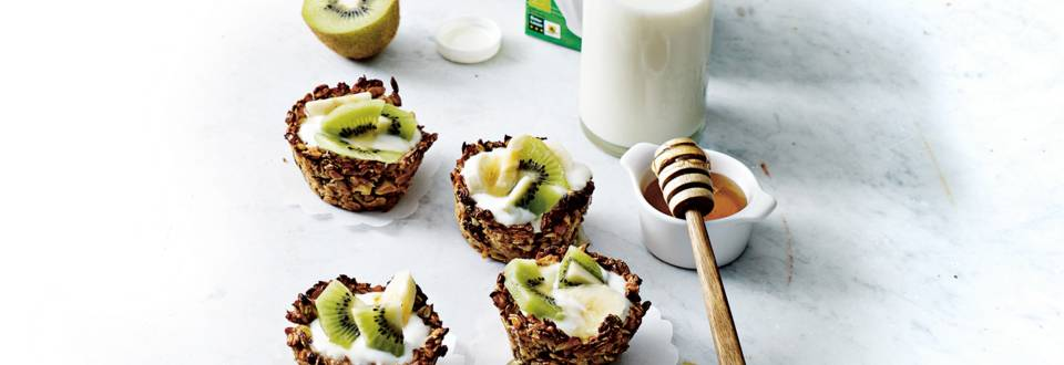 Granola ontbijttaartjes