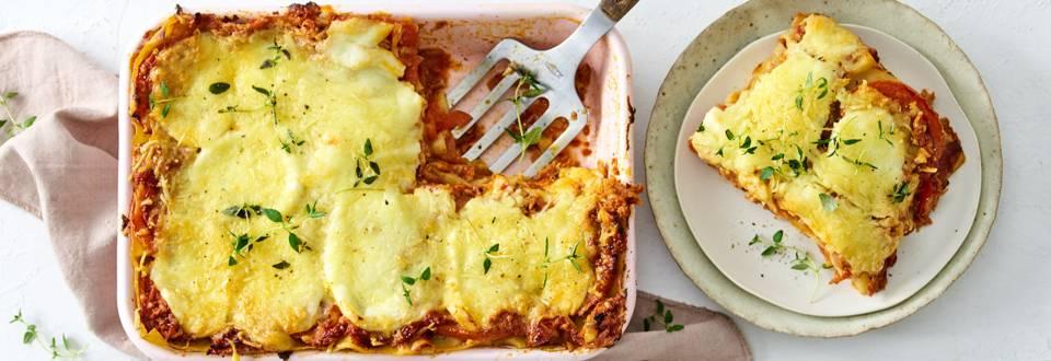 Lasagne puttanesca