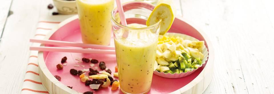 Bananen-ontbijtsmoothie